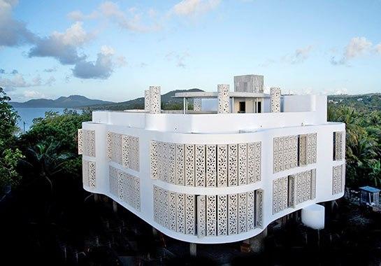 El Blok Vieques via Architectural Digest