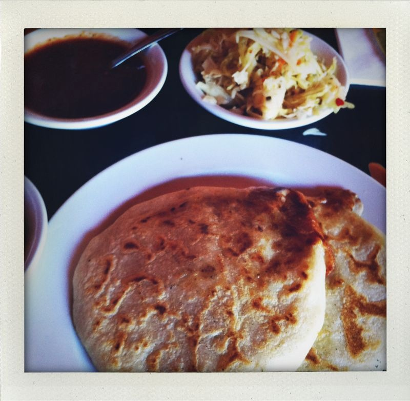 Mission dist, SF: the most amazing pupusas on 17th?