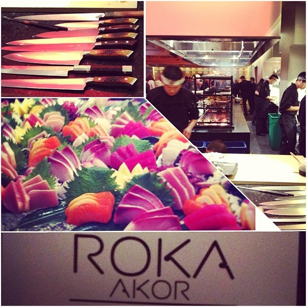 Private cocktail party for the grand opening! Thanks @rokaakorsf, @checkerpants, and @missadela! @rokaakor (at Roka Akor | San Francisco)