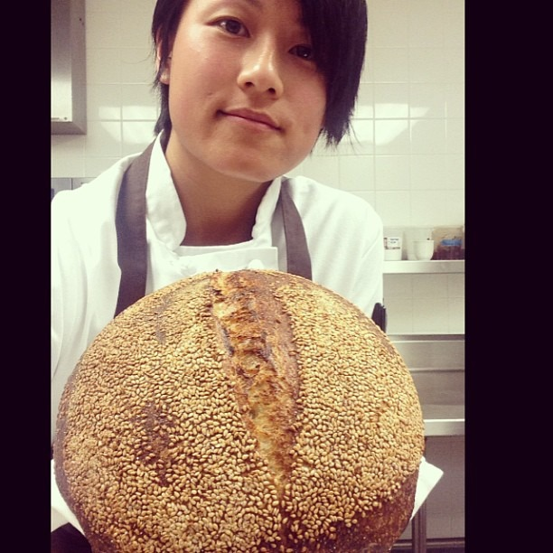 Mel the Baker. #selfie #wildyeast #bread #sourdough #soupmama #luce