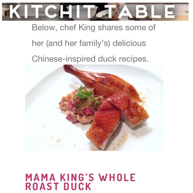 Check out my duck interview 🐥🐣🐥🐣#duck #recipe #food  http://blog.kitchit.com/blog/2014/2/11/duck-duck-