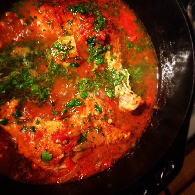 Chicken and rice: chilies, peppers, tomato, onion, cilantro, lime, potatoes #supper #stew #cozy