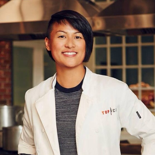 One more month until the Premiere of Top Chef: Boston! Reppin' #sanfrancisco October 15th on @bravotv #topchefboston #tc12 #TeamMelKing #chefsoninstagram