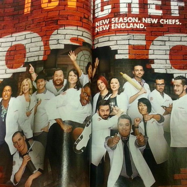 Our @foodandwine ad! Don't forget to watch #topchefboston on @bravotv Oct 15th! #tc12 #teamMel