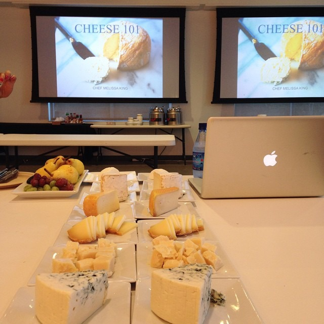 And sometimes I teach cheese classes for tech people #evernote #cheese  (at Evernote)