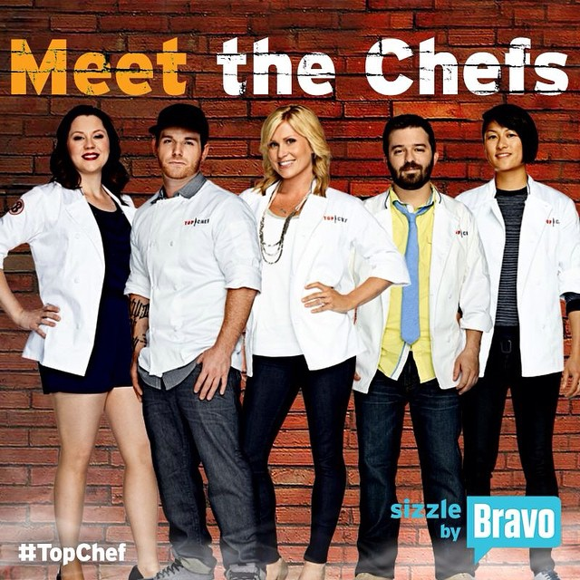 Tomorrow it's on! #topchef #topchefboston #tc12 #teamMelKing