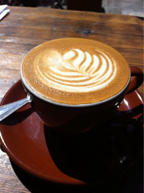 Four Barrel: Mission, SF. Perfect cappuccino.
