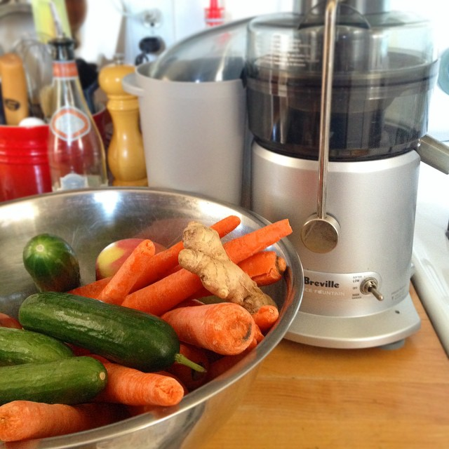 Time for a juice cleanse #breville