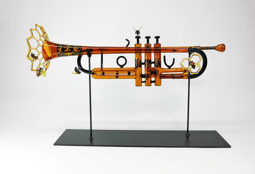 """BEE TRUMPET"" Collaboration with Phil Siegel January 2015"