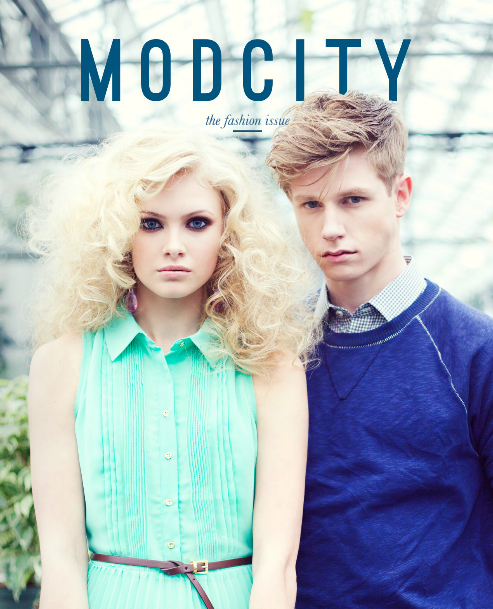 MODCITY MAGAZINE   , APRIL 2013   (FEATURED ARTIST)  The Art of Fashion