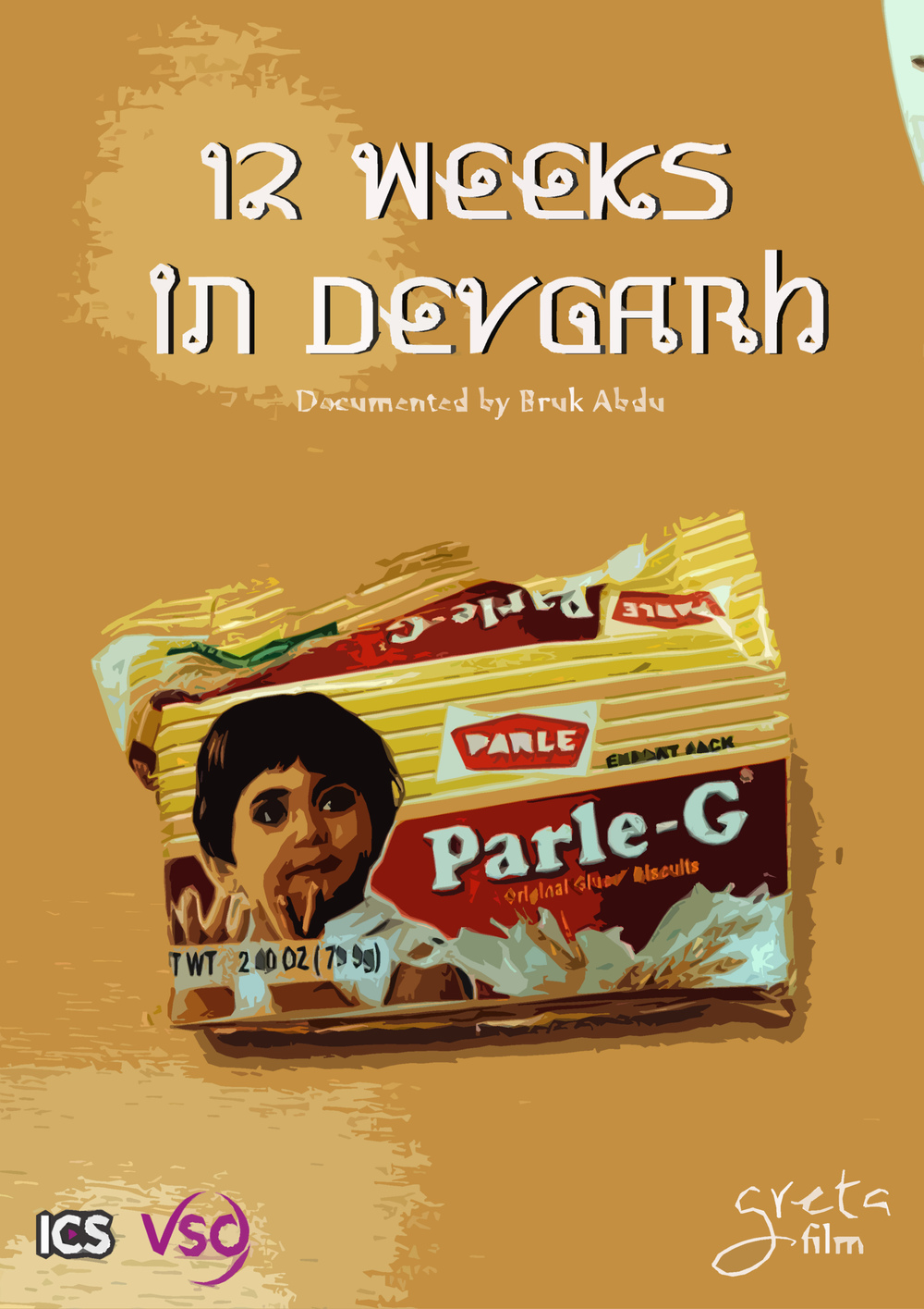 '12 Weeks in Devgarh' Digital Poster  (KURB Doc)    A digital poster used to build anticipation for the upcoming release - '12 Weeks in Devgarh'. A journey of a VSO Volunteer, 3 months in the heart of Devgarh. Check the full   journey here  .  (Documentary) Blog:  kurbdocumentaries.wordpress.com