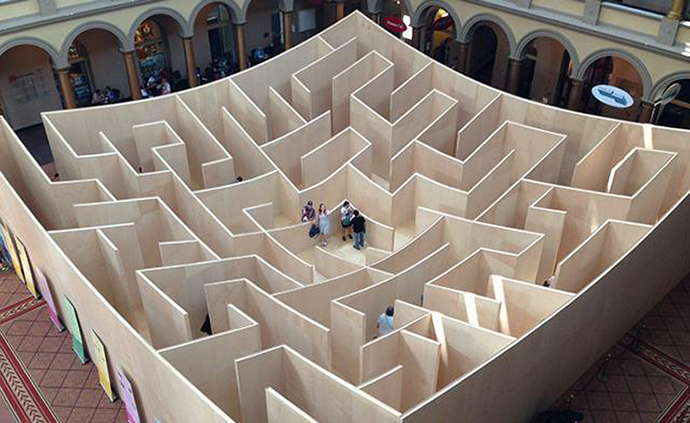 National Building Museum Maze
