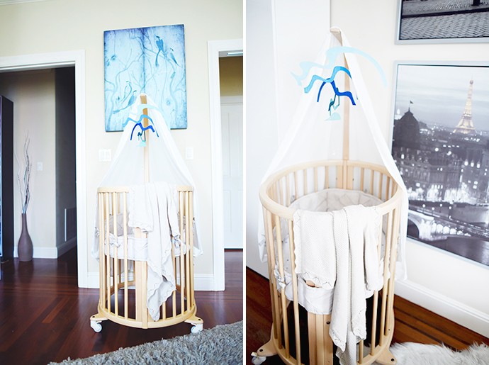 The canopy holder has a little hole perfect for a little mobile to keep the baby engaged when awake and wanting to play ( and when you need a minute to ... & STOKKE MINI BUNDLE GIVEAWAY! u2014 Urban Crusing