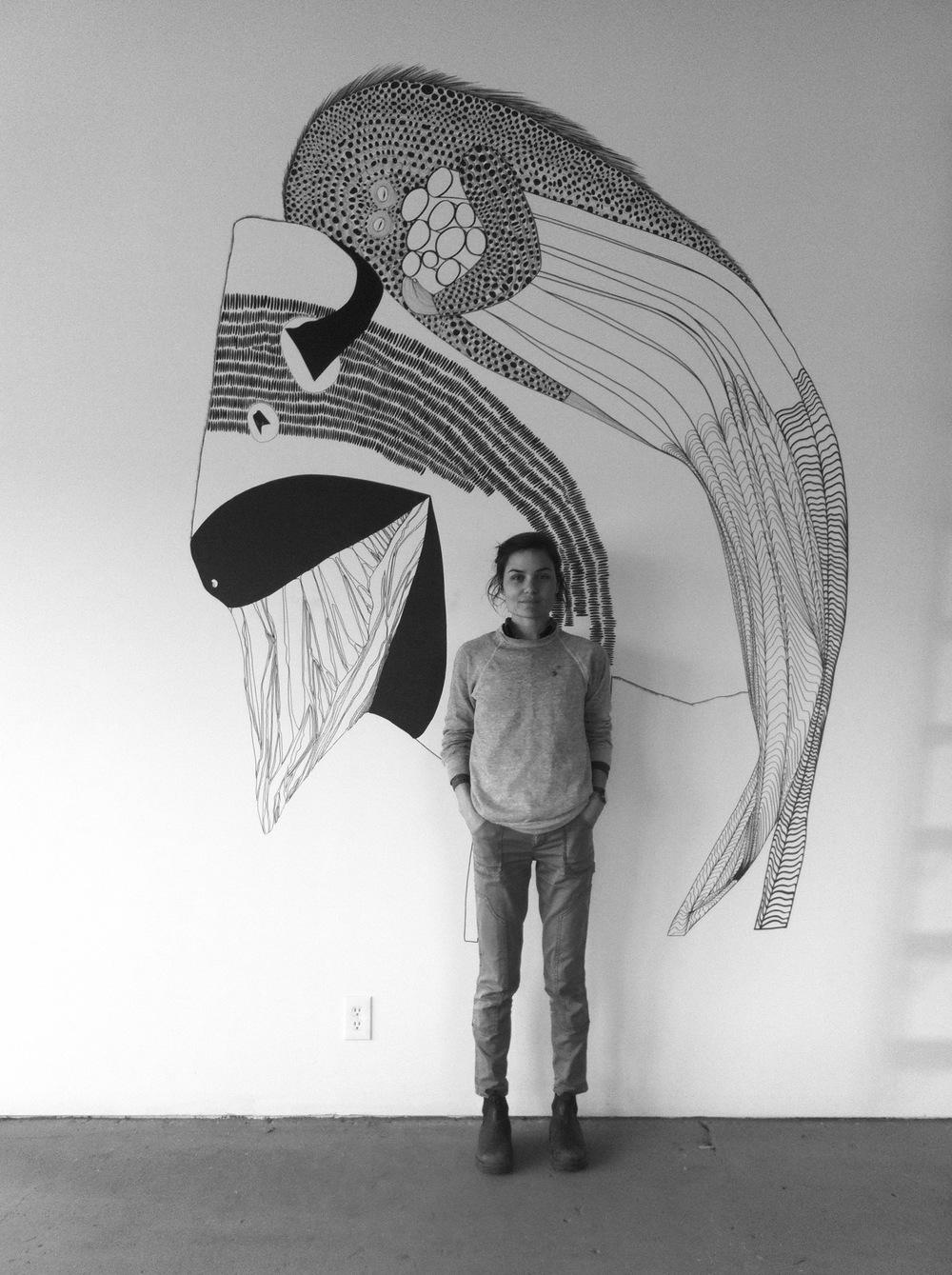Artist Lana Fee Rasmussen