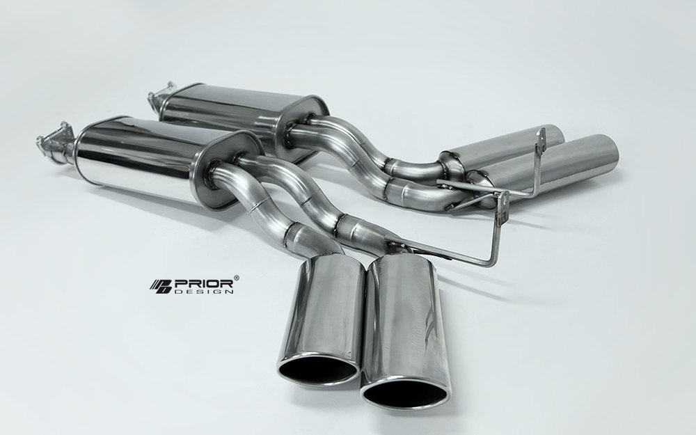 Prior Design Mercedes Exhaust System