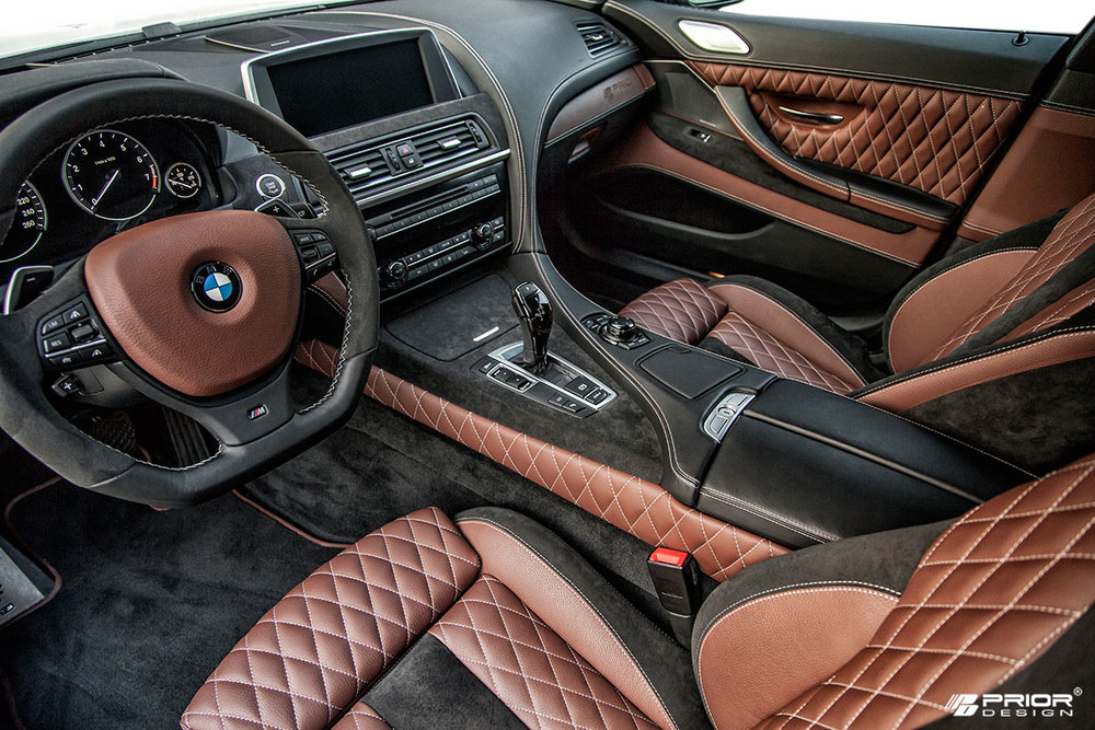 Custom Tailored Prior Design BMW Interior