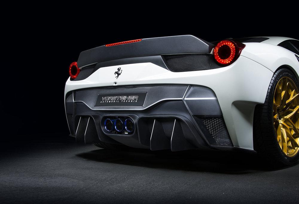 458-VX Rear Bumper w/ Diffuser