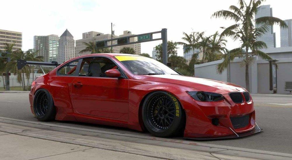 Pandem BMW E92