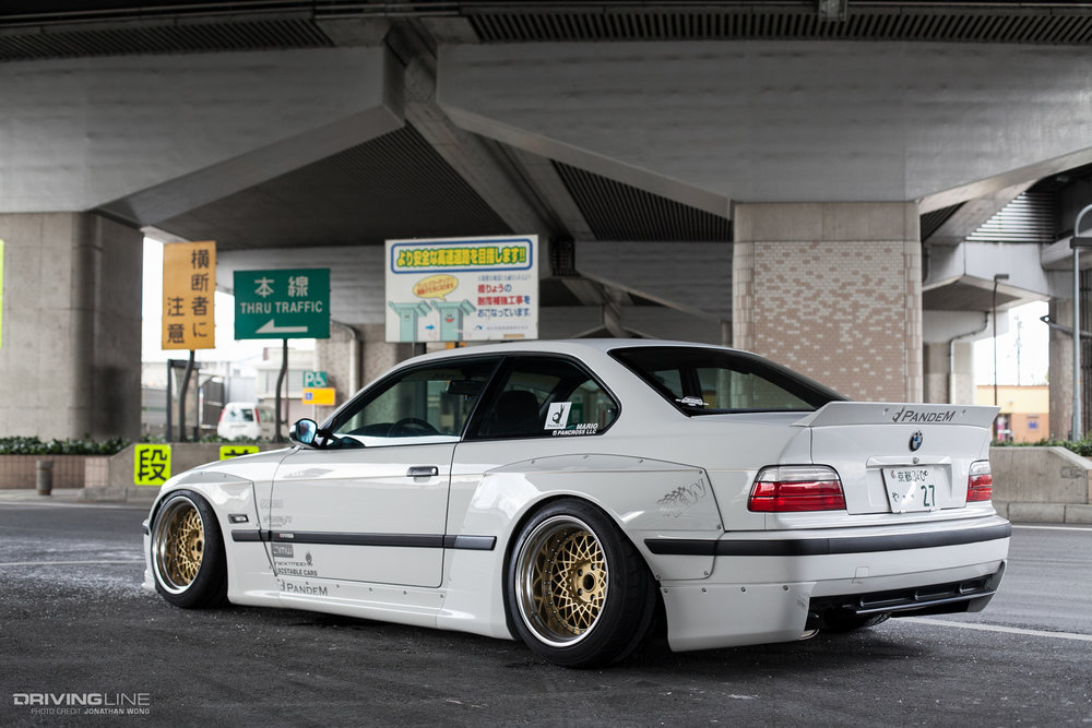 Pandem BMW E36