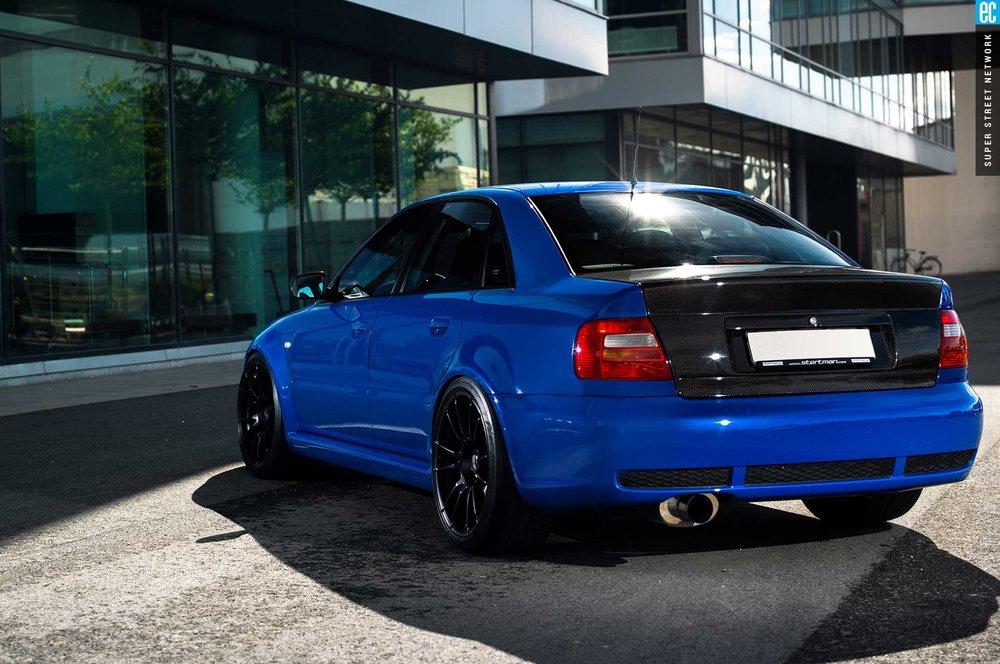 Seibon Carbon Audi B5 S4 Trunk Lid