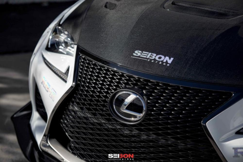 Seibon Carbon Lexus RCF Hood