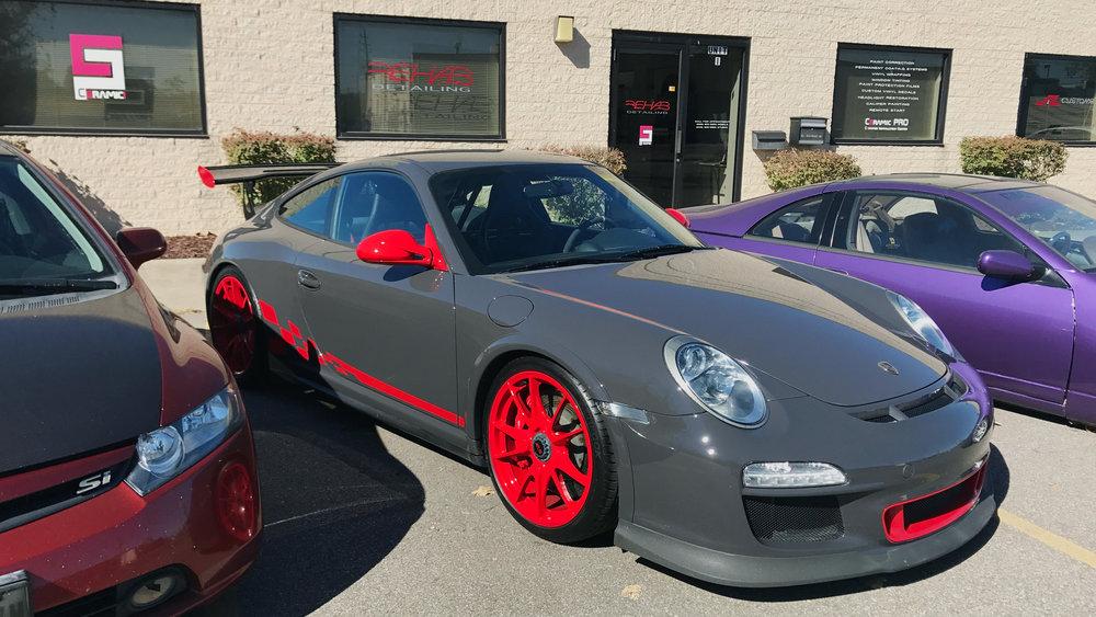 Porsche GT3 RS - Actor Package Detail