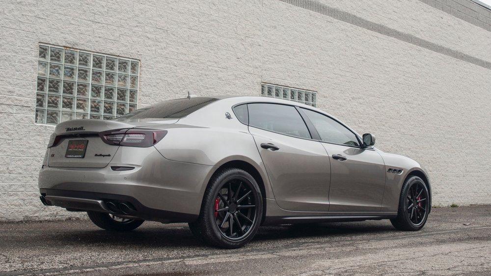 Maserati Quattraporte Q4 - Rockstar Detail, Chrome Delete, Ferrada Wheels, Ceramic Tint