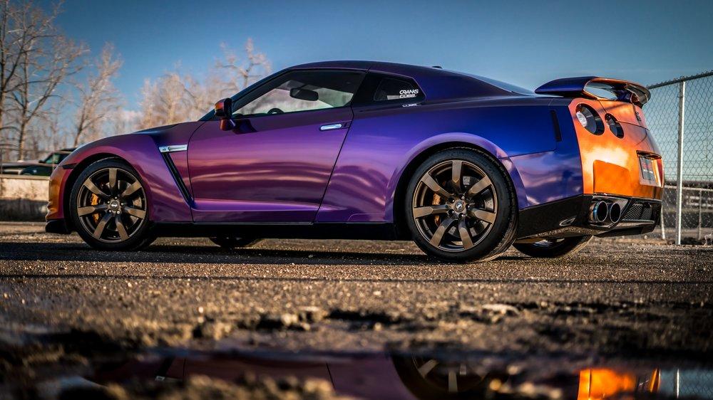 R35 GT-R - Rolling Thunder Colorshift, Ceramic Pro