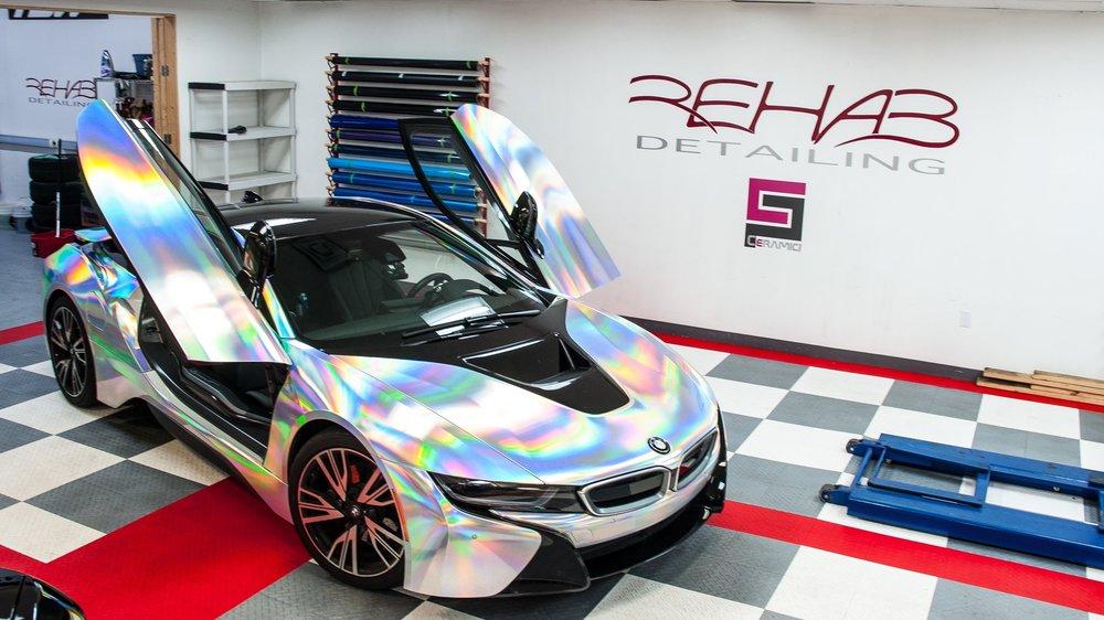 BMW I8 - Holographic Chrome