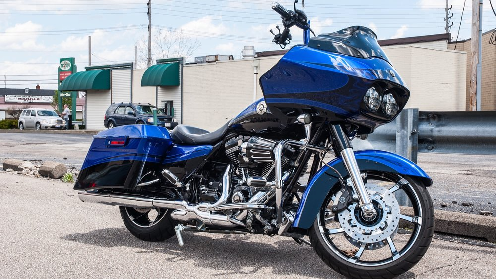 Harley-Davidson CVO Road Glide - Full Paint Correction, Ceramic Pro