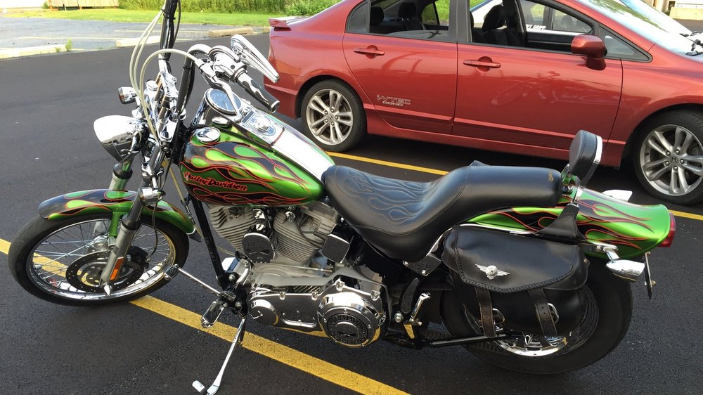 Harley-Davidson Custom Softtail - Full Paint Correction, Ceramic Pro