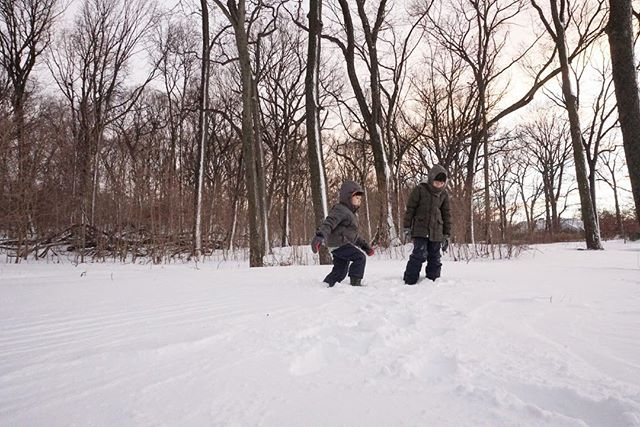 Sunshine is delicious, rain is refreshing, wind braces us up, snow is exhilarating; there is really no such thing as bad weather, only different kinds of good weather - John Ruskin #natureplay #outdoorplay #familytrails #snow