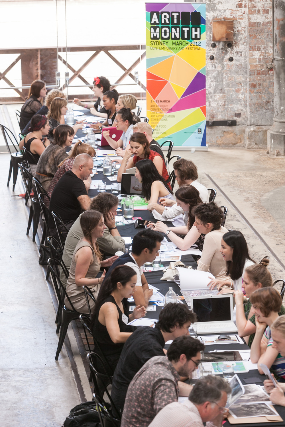 Artist Speed Dating - Art Month Sydney