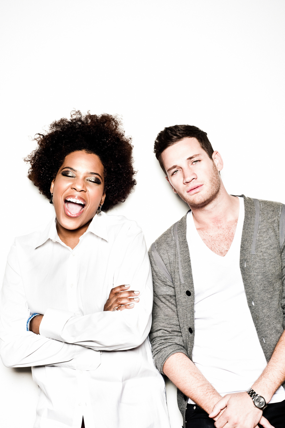 Macy Gray and Kaz James