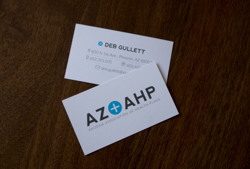 AZAHP business cards