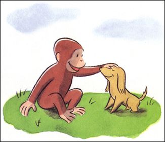 Curious George And The Puppies Eden M Kennedy