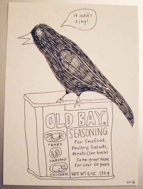 old bay raven