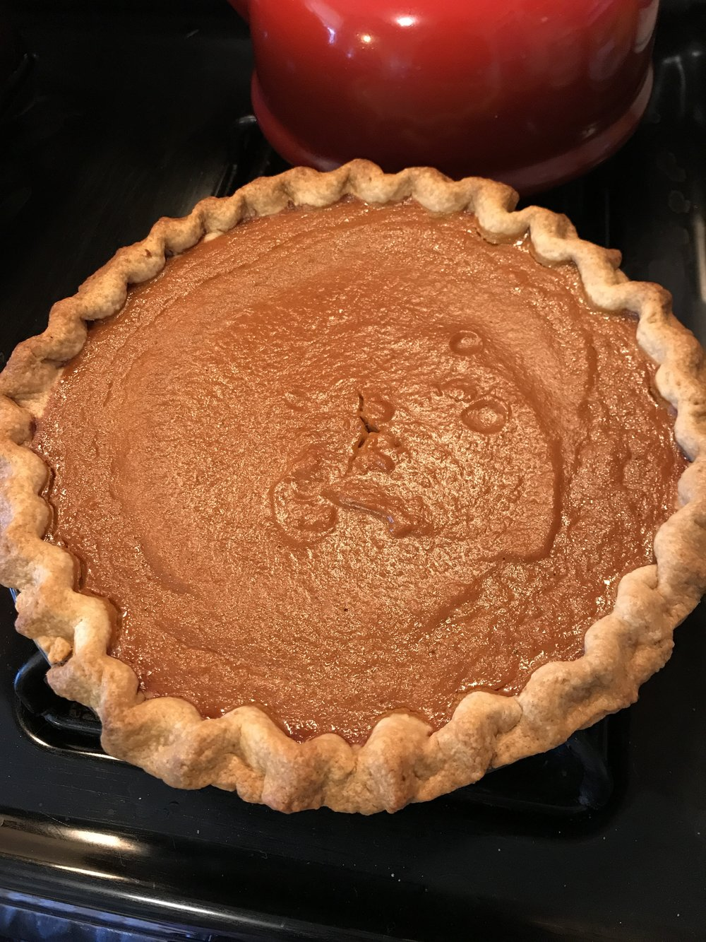 With God as my witness this will be the last bland, Libby's-based pumpkin pie I make in this lifetime.