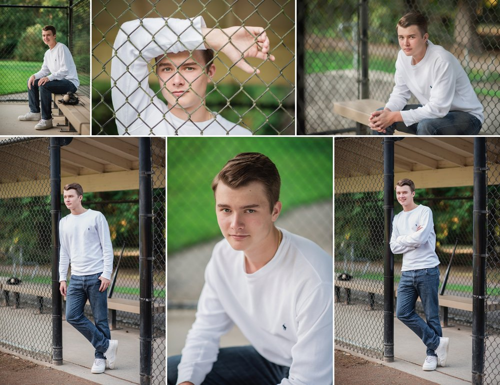 Mary Vance Photography Senior Guy Photographer Sammamish Washington Eastlake High School Baseball