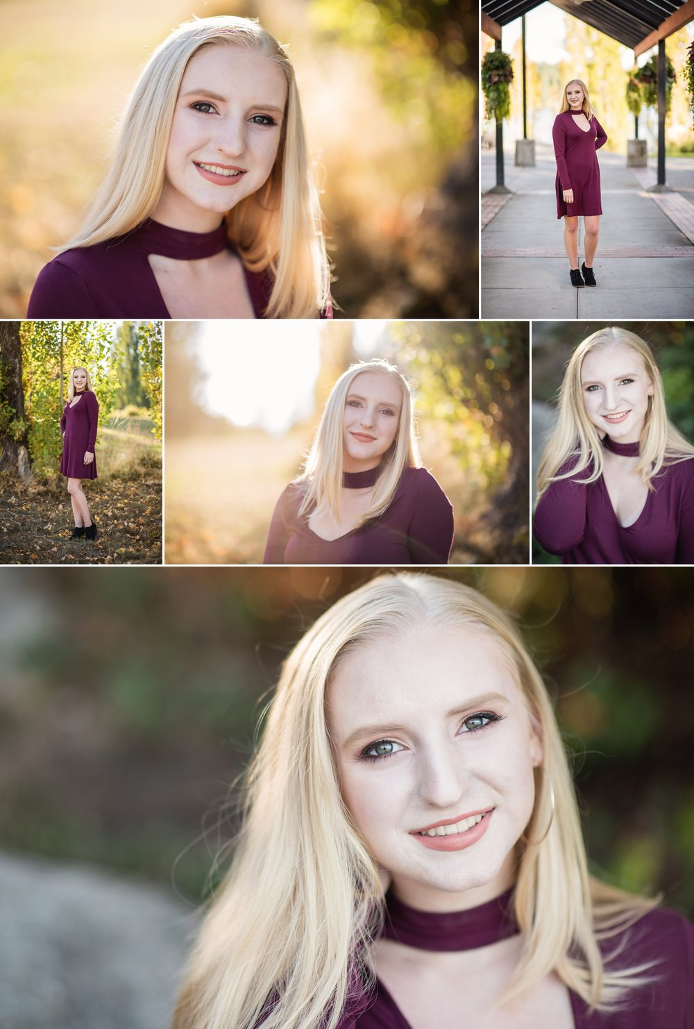 Mary Vance Photography Senior Girl Sammamish Washington Luther Burbank Park Fall