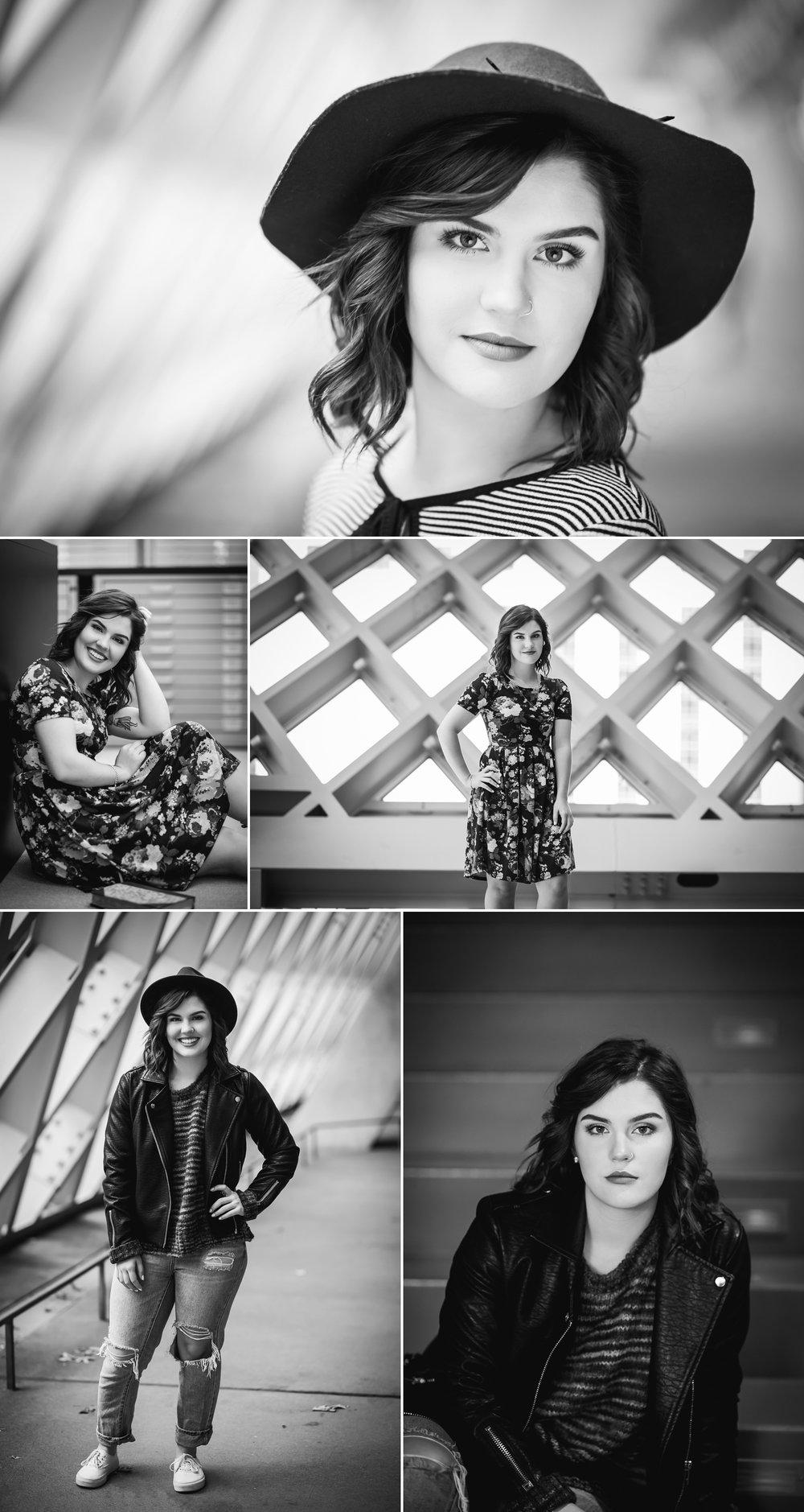 Mary Vance Photography Senior Girl Sammamish Washington Seattle Public Library