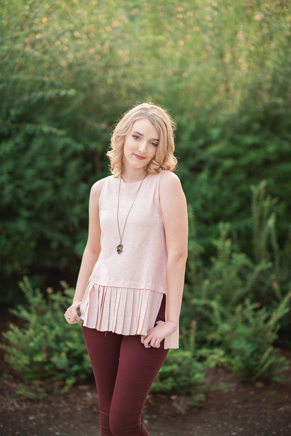 Mary Vance Photography Senior Girl Sammamish Washington
