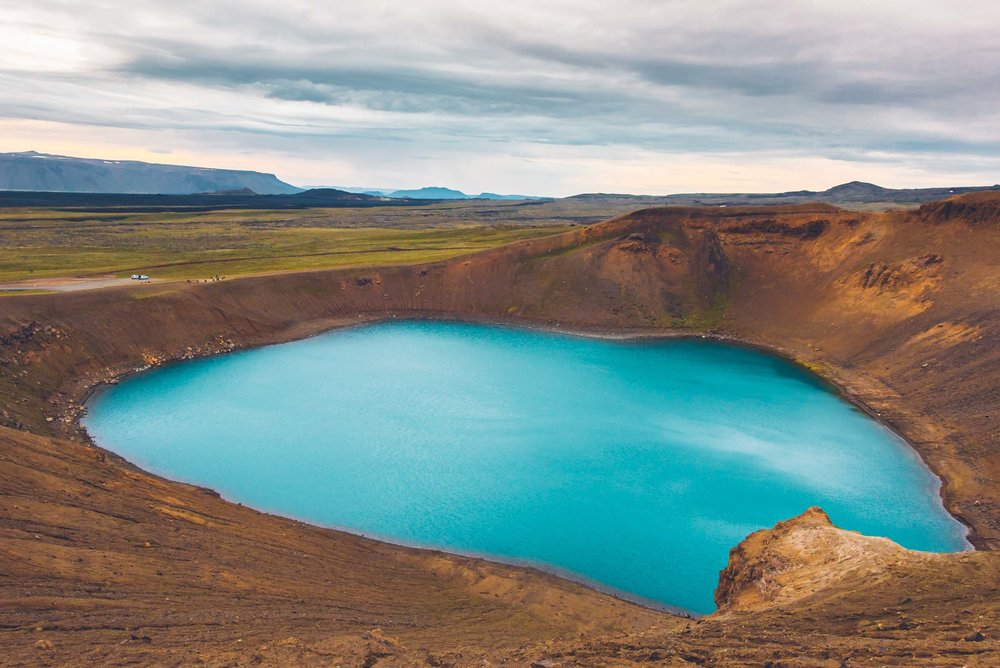 Viti Lake at Krafla, Iceland