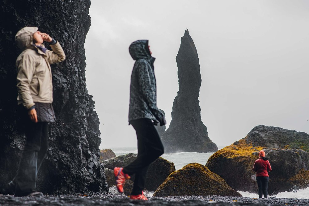 Black Sand Beach. Vik. Iceland