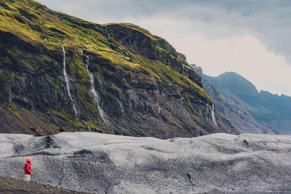skaftafellsjökull glacier. Photography in Iceland