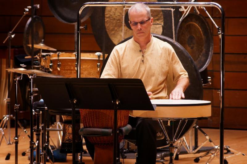 Percussionist Dan Kennedy
