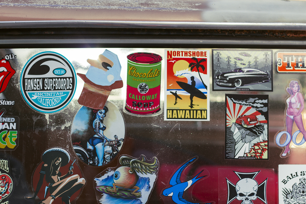 07.11.2014  Went to Gordon's Bay, saw some dope stickers.