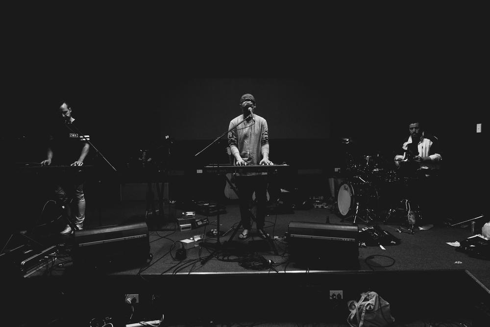 10.10.2015  RUFUS rehearsing in the studio.