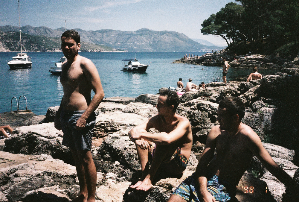 01.08.2016  Got some film developed from the last few months of travelling around. Mick, Cam and I in Croatia.