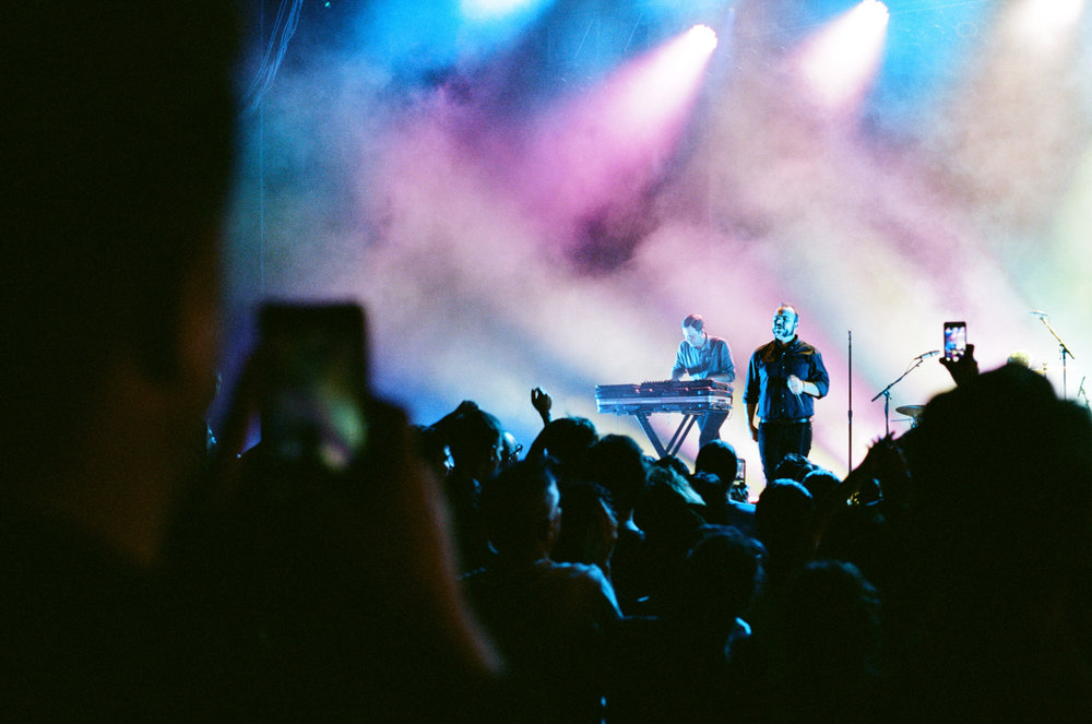 29.09.2017  Got some film developed - Future Islands at the Greek in LA.